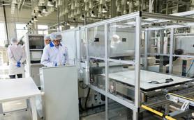 В России открыли первый завод по выпуску солнечных батарей