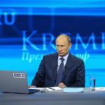 """Число вопросов на """"Прямую линию с Путиным"""" превысило два миллиона"""
