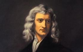 Исаак Ньютон станет героем детективного триллера