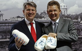 «Газпром» и Shell подписали соглашение о стратегическом сотрудничестве