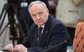 Президент Молдавии встретится с главой Белоруссии