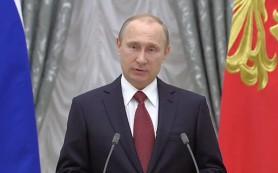 Путин наградил Михалкова и Соломина орденами «За заслуги перед Отечеством» I степени