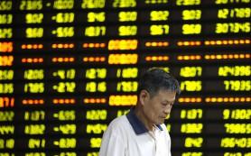 Китайский биржевой индекс Shanghai Composite упал до восьмилетнего минимума