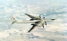 В Хабаровском крае упал бомбардировщик Ту-95