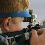 Григорьян победил в стрельбе из винтовки с 50 метров на этапе КМ в Габале