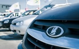 Продажи Lada продолжили падение