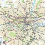 Великобритания: TFL создала новую карту лондонского метро