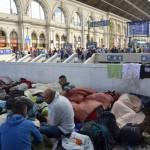 В среду венгерскую границу пересекло рекордное число беженцев