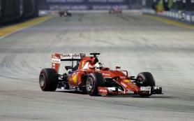 Пилот «Феррари» Феттель выиграл Гран-при Сингапура в «Ф-1», Квят — шестой