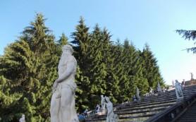 Завершена реставрация «Золотой горы» Петергофа