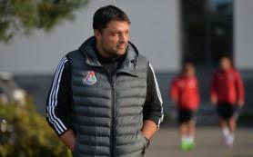 Тренер ФК «Локомотив» Черевченко заявил, что матч со «Спартаком» — «обычная игра»