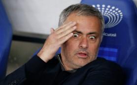 Моуринью обвинил судью в «слабости и наивности» после матча ЛЧ с киевским «Динамо»