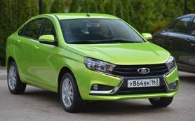 «АвтоВАЗ» назвал стартовую цену Lada Vesta