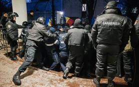 В Кишиневе прошел митинг за отставку правительства