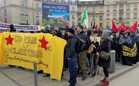 В Мюнхене прошла антивоенная манифестация