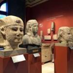 """В египетском зале Пушкинского музея открылась выставка """"Два Аменемхета"""""""