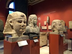 В египетском зале Пушкинского музея открылась выставка «Два Аменемхета»
