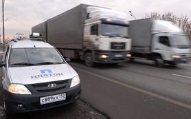 СМИ узнали о намерении правительства заморозить сбор с грузовиков