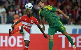 «Спартак» и «Кубань» сыграли вничью в матче ЧР по футболу