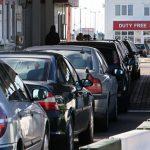 СМИ: очередь автомобилей на границе Польши и России достигла 6 километров