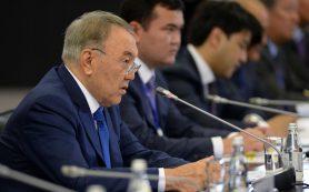 Глава Казахстана Нурсултан Назарбаев встретился с капитанами российского бизнеса