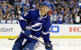 Российский нападающий Наместников согласовал двухлетний контракт с клубом НХЛ «Тампа-Бэй»