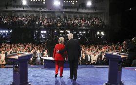 Трамп и Клинтон на дебатах вновь поспорили о России