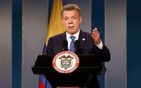 Президент Колумбии получил Нобелевскую премию мира