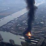 На заводе химкомпании BASF в Германии произошел взрыв