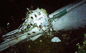В Колумбии разбился самолет с бразильской футбольной командой на борту