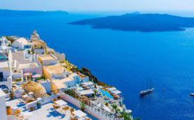 Греция: Санторини — лучшее место для круиза