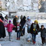 Восточный Алеппо покинули более восьми тысяч жителей