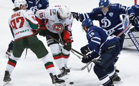 «Ак Барс» обыграл московское «Динамо», обеспечив себе выход в плей-офф КХЛ