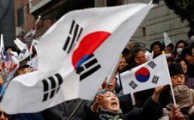 Кандидат от оппозиции вышел в лидеры президентской гонки в Южной Корее