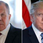 Трамп объединил свои фото с Лавровым и Климкиным и призвал к миру