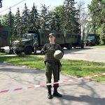 В Одессе полиция эвакуировала людей с Куликова поля