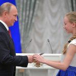 Владимир Путин вручил паспорта юным гражданам России