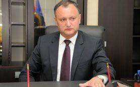 Додон прокомментировал выдворение российских дипломатов из Молдавии