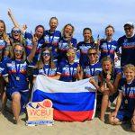 Россиянки стали чемпионками мира по пляжному фрисби, в финале обыграв США