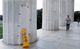 В Вашингтоне осквернили культовый Мемориал Линкольна
