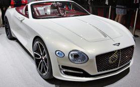 В России упали продажи Bentley