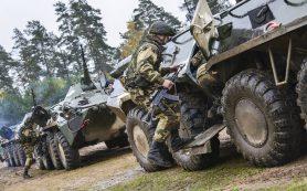 Бронегруппа Белоруссии уничтожила «вражеский отряд»