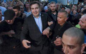 Саакашвили провел ночь в палаточном городке у Рады в Киеве