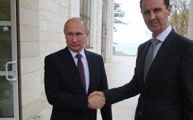 В Кремле раскрыли подробности встречи Путина и Асада