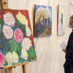 В посольстве Беларуси в России открылась выставка молодых художников