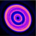 Кольца и щели в развивающейся планетной системе
