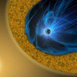 Новый магнитный процесс в турбулентной области космического пространства