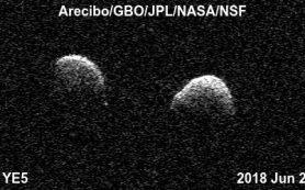 Ранее открытый астероид оказался двойной системой редкого типа