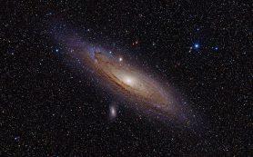 Исследователи анализируют звездные популяции галактики Андромеда