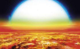 Железо и титан в атмосфере экзопланеты